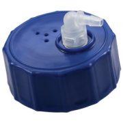 Anslutning med slangsockel 1/8 för dunk/flaska med din45